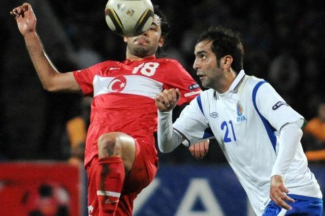 Vogts und Aserbaidschan schlagen die Türkei mit 1:0