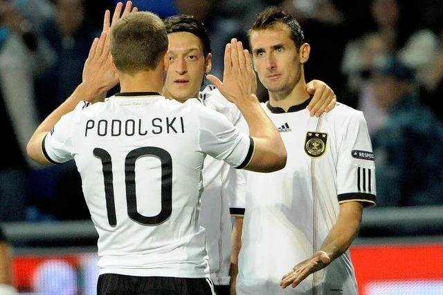 Glanzloser Sieg: Deutschland schlägt Kasachstan 3:0