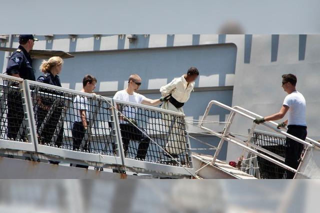 Somalische Piraten stehen vor einem deutschen Gericht