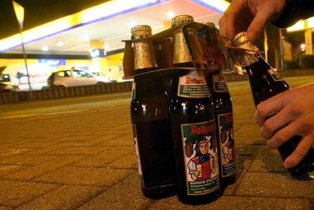 Kein Alkohol-Verkauf: Der Nachtschalter bleibt zu