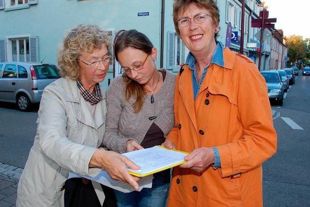 500 Unterschriften gegen Bauprojekt auf dem Münsterberg