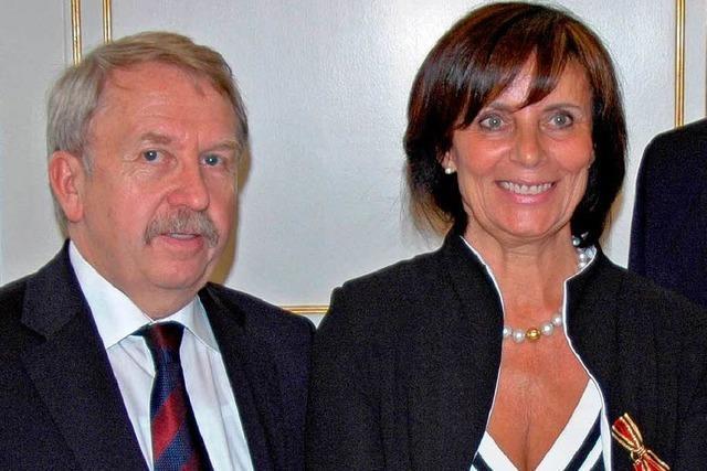 Bundesverdienstkreuz für Marianne Mack