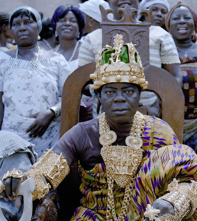 Togbui Ngoryifia Céphas Kosi Bansah - ...ielle Name des Königs von Hohoe Ghana.  | Foto: Mirka Laura Severa