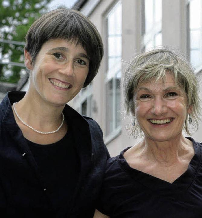 Ute Lusche, Vorsitzende der Bürgerstiftung, und Karin Maßen.   | Foto: BZ/Archiv