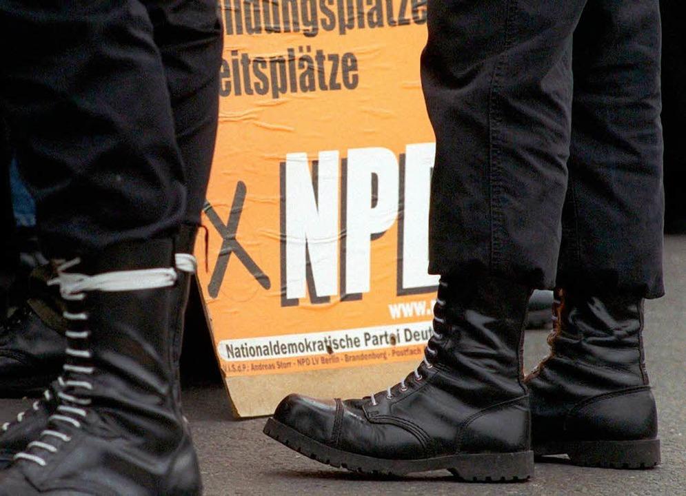 Offenburg verbietet Springerstiefel. D...ie viele Neonazis trifft das wirklich?  | Foto: dpa