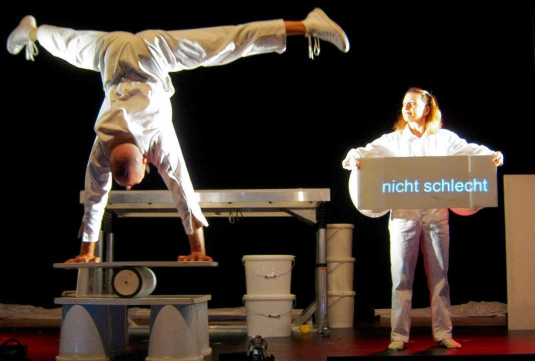 Artistisch, witzig – und multime... Coloro setzen Körper und Technik ein.  | Foto: anne Freyer