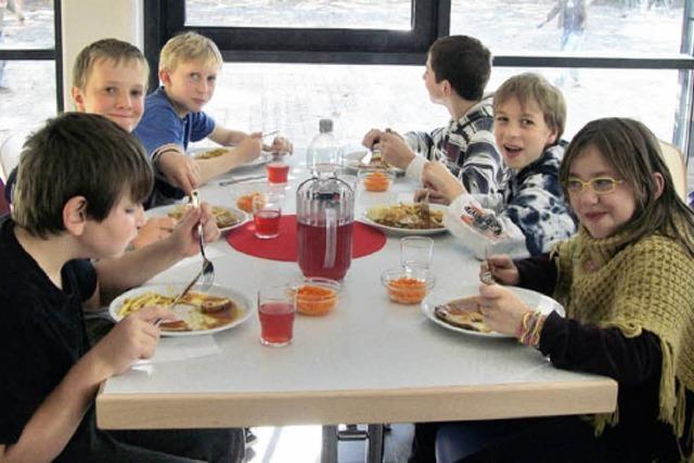Mittagessen für Werkrealschüler