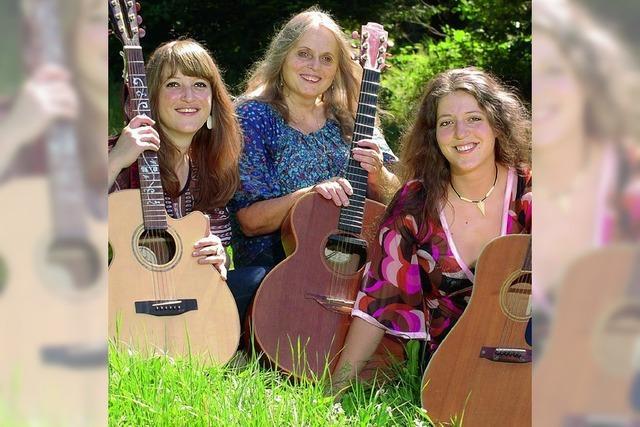 Drei Frauen und drei Stimmen im Einklang