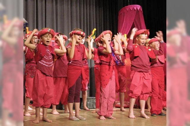 27 Kinder freuen sich auf die Premiere