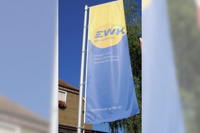 Energie- und Wasserversorgung Kirchzarten: Stabiler Ertrag trotz Absatzrückgang