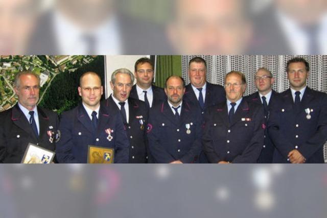 Ein halbes Jahrhundert bei der Feuerwehr dabei