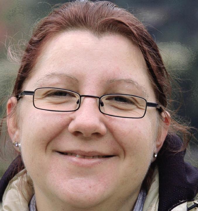 Manuela Junker, 34 Jahre, aus Ettenhei...e waschen soll. Auch nach dem Spielen.    Foto: Heidi Hoffmann
