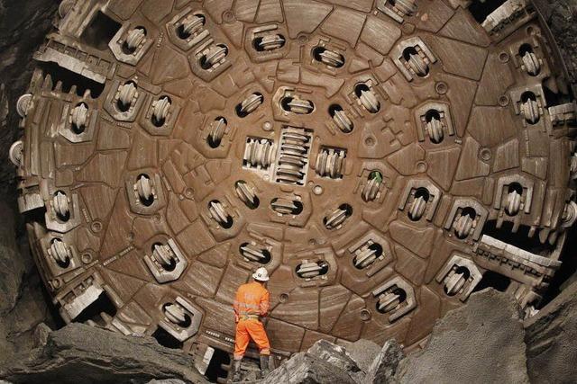 Gotthard-Tunnel: Der Durchbruch ist gelungen