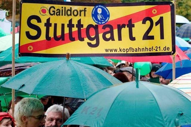 Die Fronten um Stuttgart 21 bleiben verhärtet