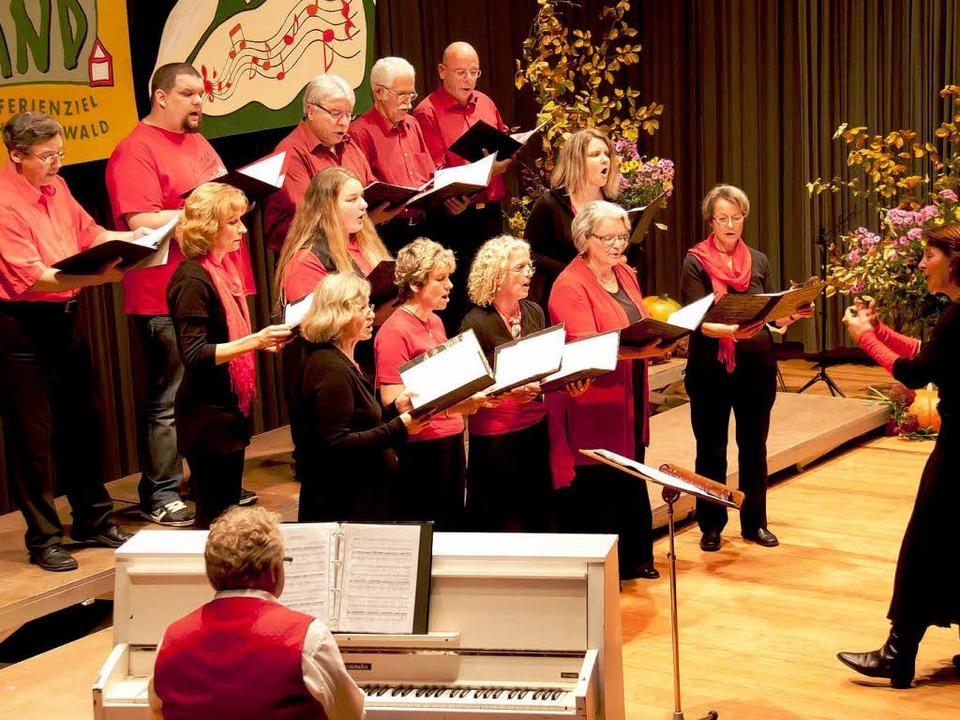 Cantate Domino unter Leitung von Heidrun Schäfer  | Foto: Chris Seifried