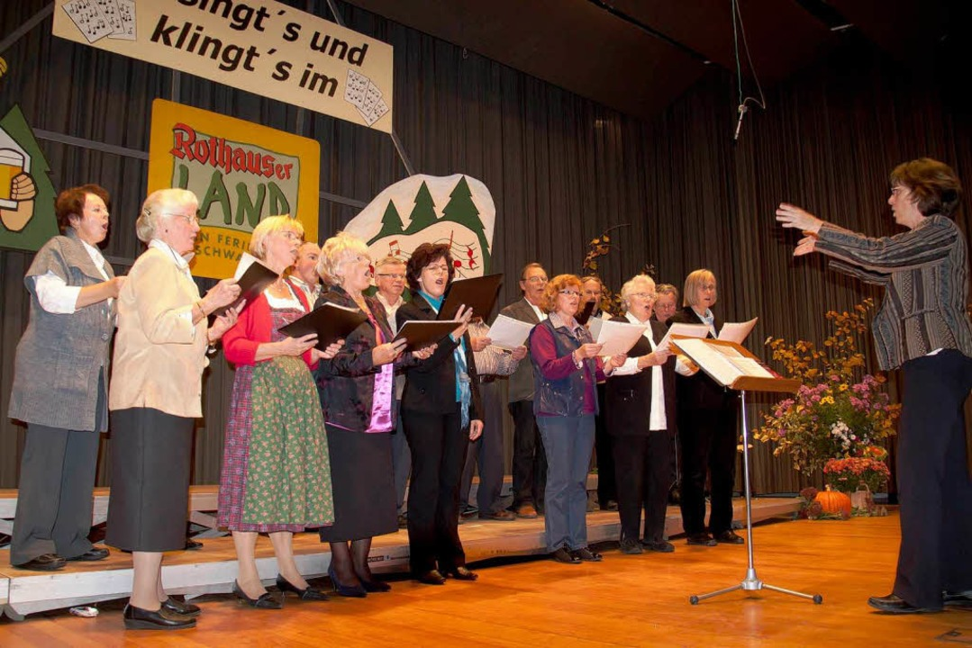 So singt´s und klingt´s im Rothauser Land: Kirchenchor Brenden  | Foto: Chris Seifried
