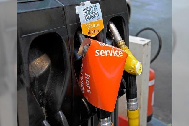 In Frankreich wird das Benzin knapp