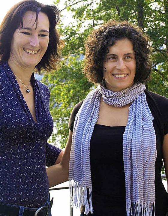 Die erfolgreichen Paddlerinnen Severine Probst (rechts) und Susanne Gathmann  | Foto: Albert Greiner