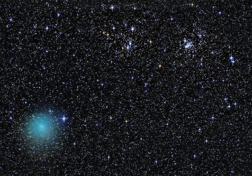 Komet Hartley 2  | Foto: Sternfreunde Breisgau