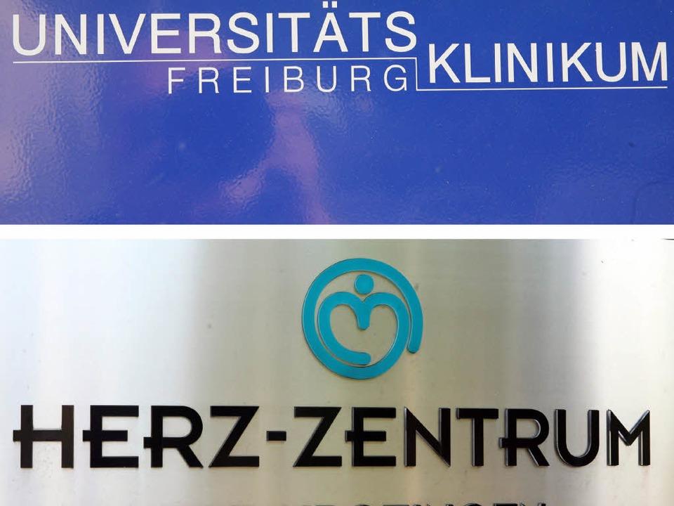 Die Universitätsklinik in Freiburg und...s Gesetz könnte diesen Willen dämpfen.  | Foto: dpa/dpaweb