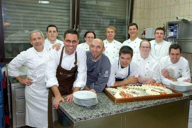 Fotos: Küchenparty im Restaurant Adler in Lahr-Reichenbach