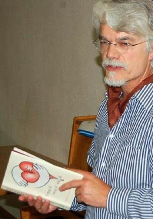 Markus Manfred Jung bei der Buchvorstellung   | Foto: Manfred Wagner