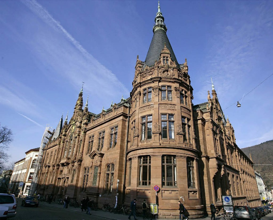 Die Bibliothek der Universität Heidelberg  | Foto: dpa