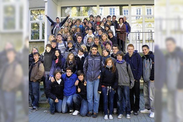 Junge Europäer entdecken einander