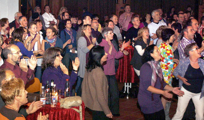 Wo Abba-Songs gespielt werden, herrscht Ü30-Party.   | Foto: E. Albrecht-Pelz