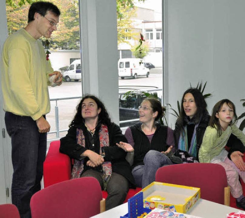 Lehrer Rolf Kassubek ist der Verbindun...zwischen Schule und Ganztagsbetreuung.  | Foto: Birgit Lüttmann