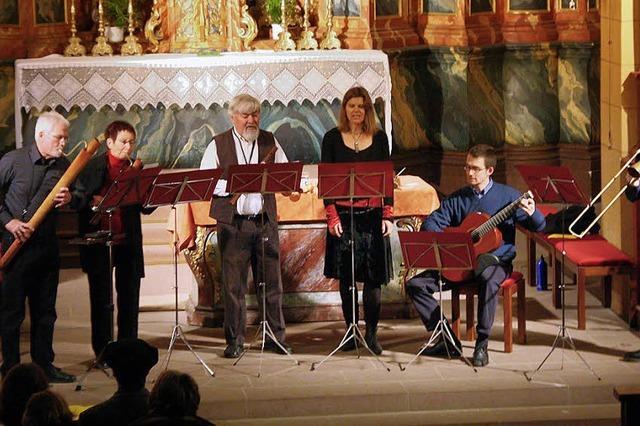 Geistliche Musik und weltliche Daseinsfreunde