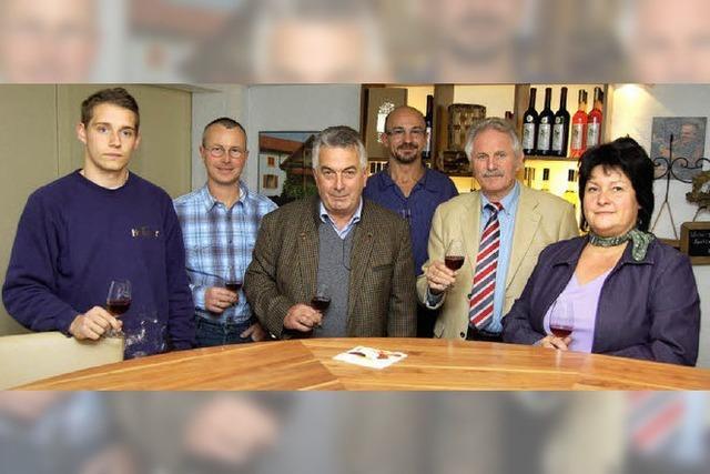 Die Weinlese in Buchholz ist schon weitgehend beendet