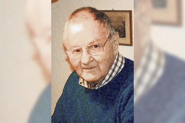 Hans Ruppaner gestorben