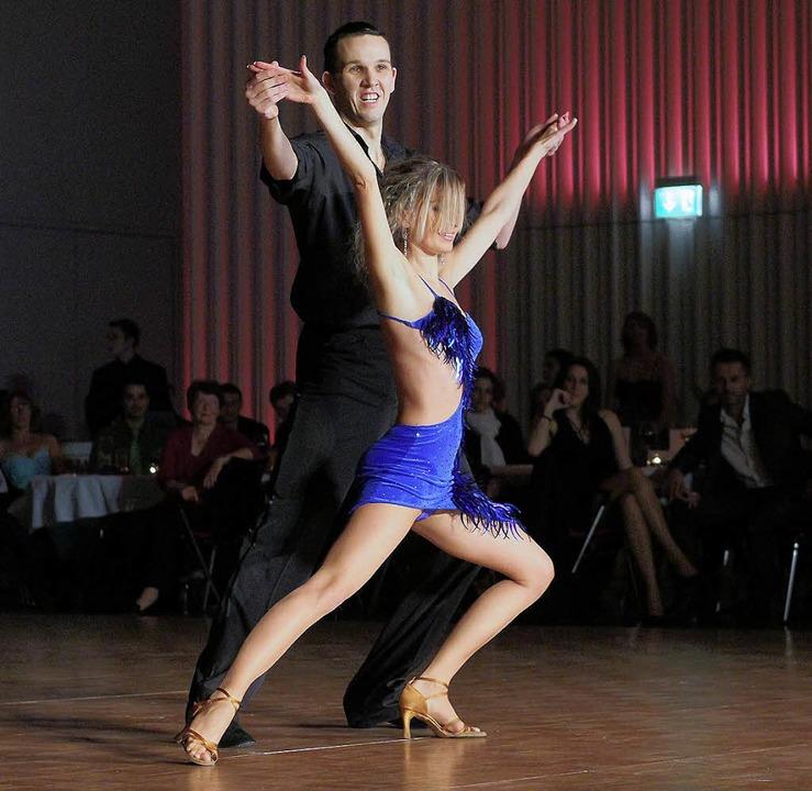 Paartanz ist auch bei der Jugend wiede...Nikita Schneider und Jacqueline Joos.   | Foto: PEter Heck