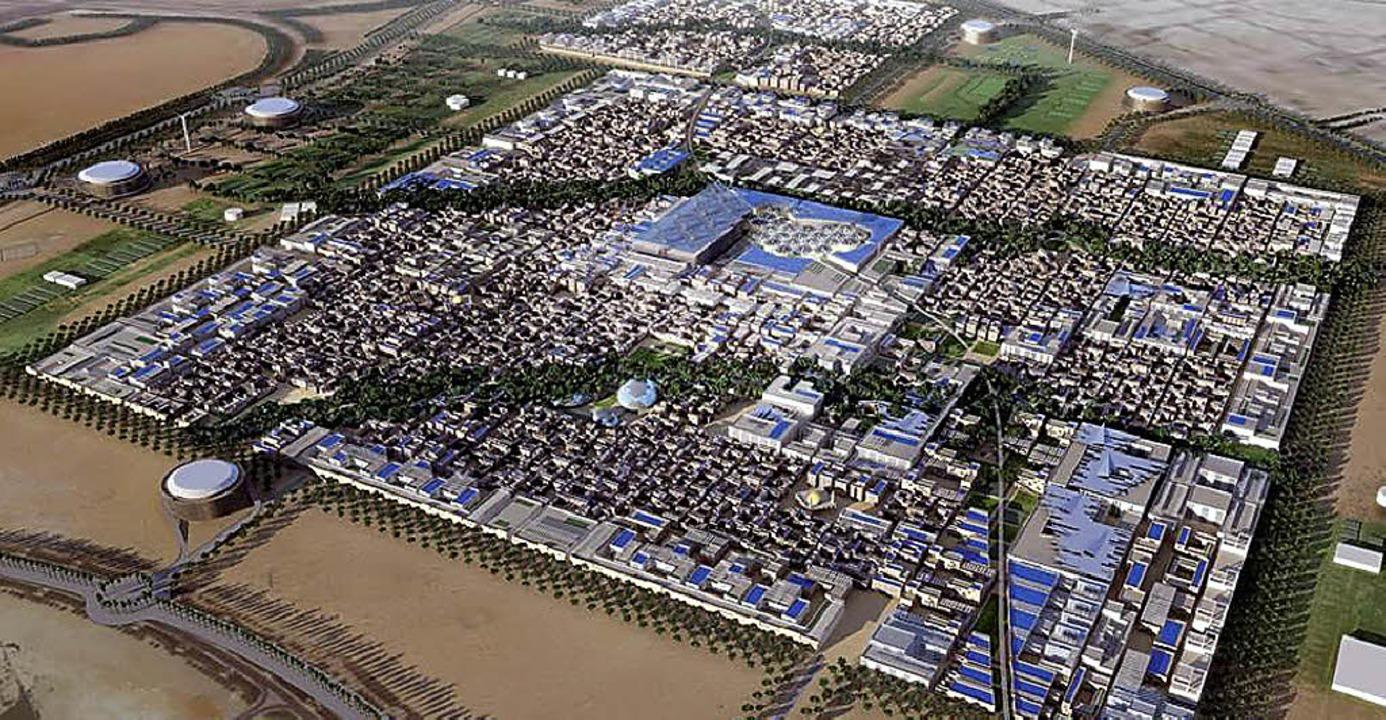 Model von Masdar City  | Foto: Promo