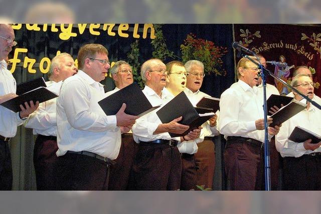 Gesangvereine fusionieren
