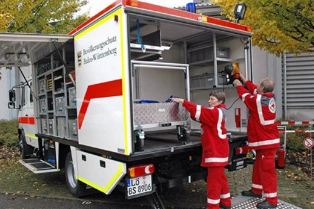 Besser ausgerüstet für den Katastrophenschutz