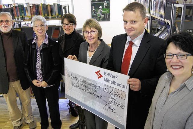 2500 Euro für die Leseförderung