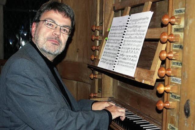 Virtuose Klänge auf der 250 Jahre alten Pottier-Orgel