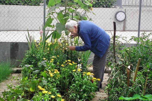 Senioren kümmern sich gern um die Parkanlage