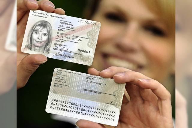 Ausweis, Signatur und Shoppinghilfe