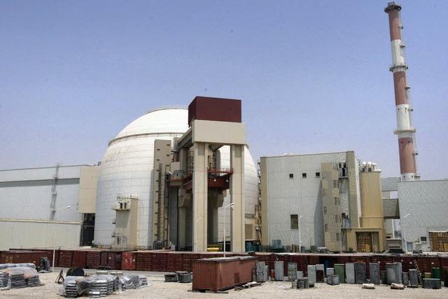 Iran bestückt Atomreaktor