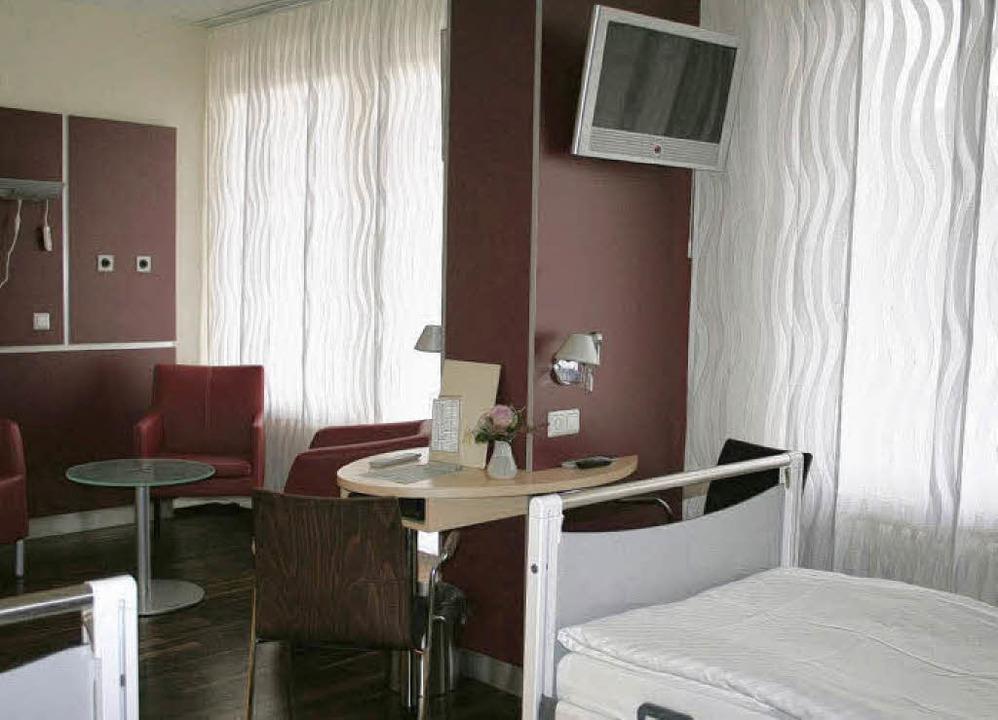 Die 17 Betten umfassende Helios Privat...n hotelähnlichem Ambiente ermöglichen.    Foto: Bianka Pscheidl