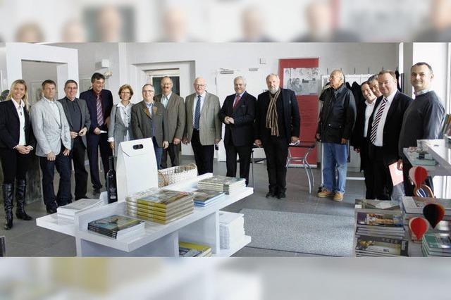 Rathauschefs in der Kunsthalle