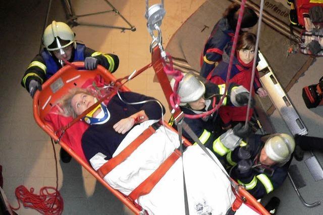 Angehende Notärzte lernten retten