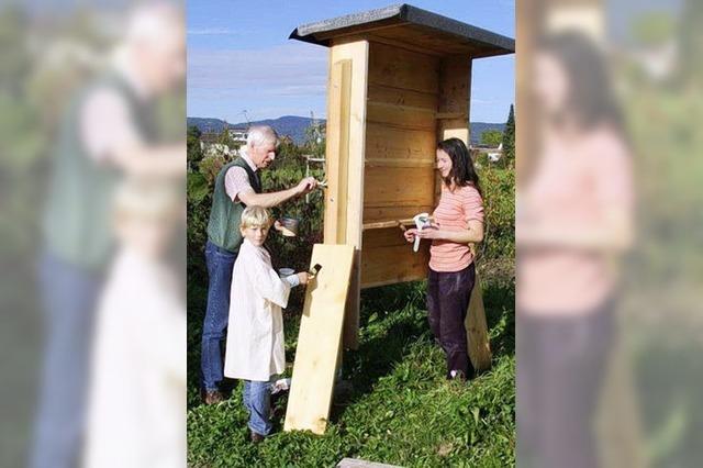 Neues Heim für Wildbienen