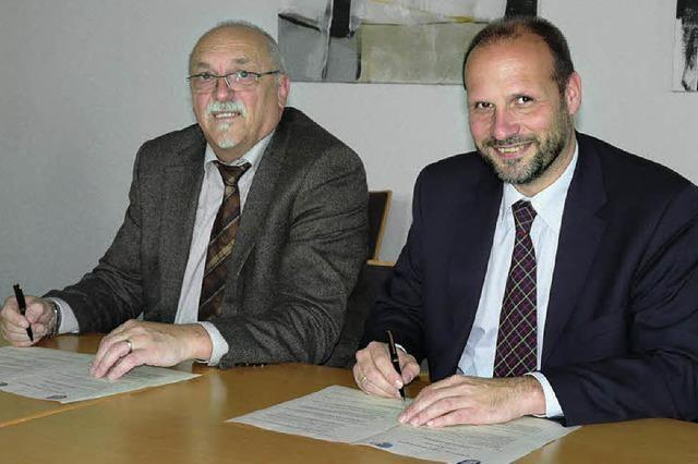 Partnerschaft macht's möglich: Rathaus macht Schule