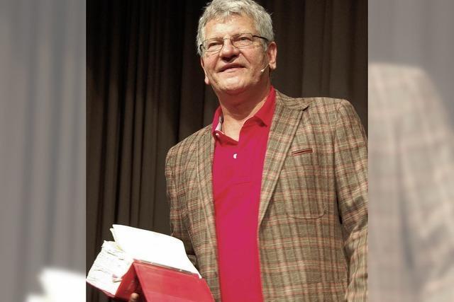 Gutedelgesellschaft eröffnet Saison mit dem Kabarettisten Werner Koczwara