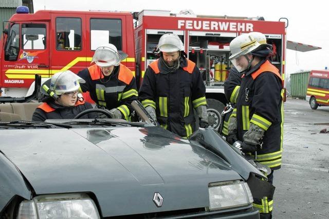 Lachengraben ist für Feuerwehr ein guter Übungsort
