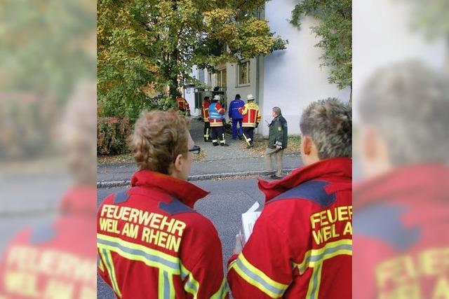 Gasalarm in Friedlingen